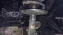 Nissan Murano жидкие подкрылки. Четыре колесные арки вымыты, обезжирены и покрыты PromCluster`ом
