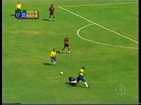 Venezuela vs Brasil 2000-Eliminatorias-Partido completo-Portugués audio.