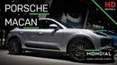 Porsche Macan a Parigi il restyling del SUV connesso