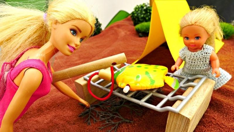 Barbie nuovi episodi. Una giornata nella natura. Video e giochi per bambini