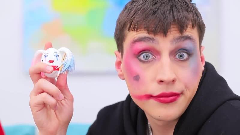Интересное видео №26 Пасхальный декор в стиле Супергероев 9 идей Необычные пасхальные яйца