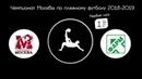 Зимний чемпионат Москвы 2018-2019. Первая лига. 1 тур. Москва VS Р-Фарм