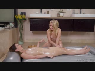 Jane wilde and lilly ford - secret sister in law [massage, lesbian]