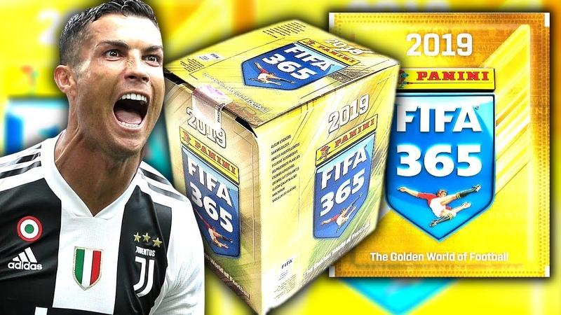 Komplettes FIFA 365 2019 STICKER Display (50 Tüten) Unboxing [deutsch]