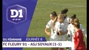 J8 FC Fleury 91 - ASJ Soyaux 1-1 / D1 Féminine