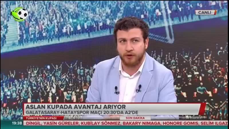 Galatasaray vs Hatayspor Uğur Karakullukçu Yorumları türkiye kupası