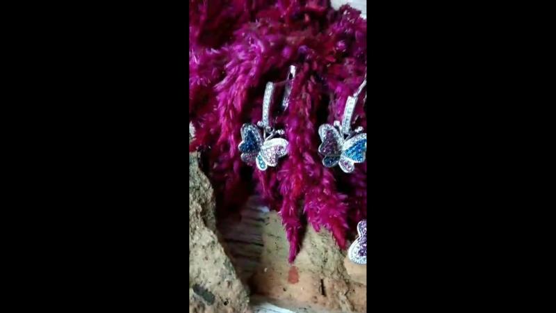 Ювелирные украшения с бабочками в Голдис mp4