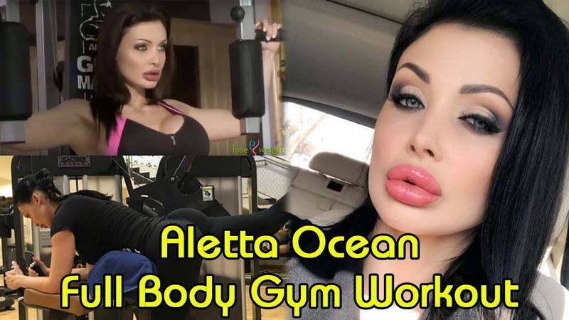 Aletta Ocean Full Body Gym Workout