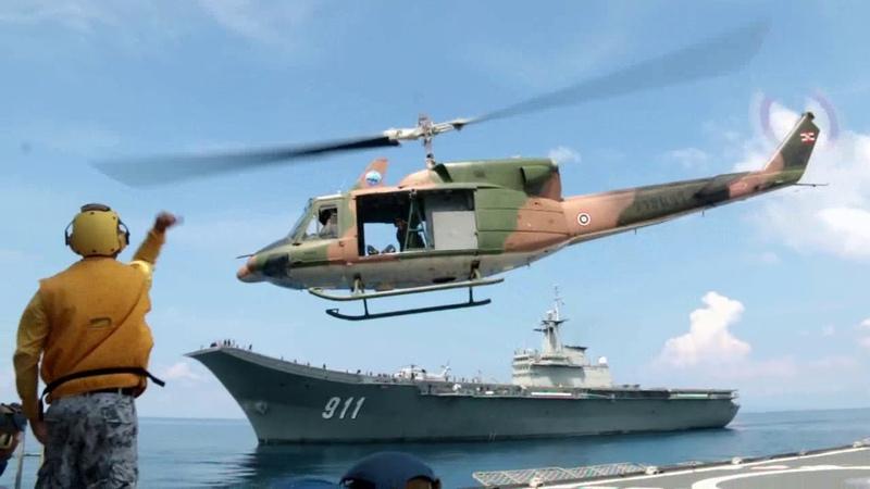 นศ วปอ แปรขบวนรุ่น 61บนเรือหลวงจักรีนฤเบ362