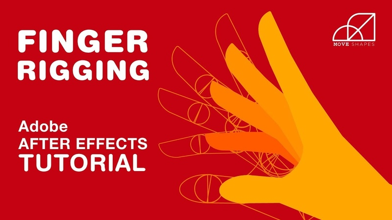 Hand Finger Rigging Animation - Adobe After Effects Tutorial