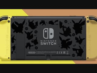 Трейлер Nintendo Switch Pikachu Eevee Edition