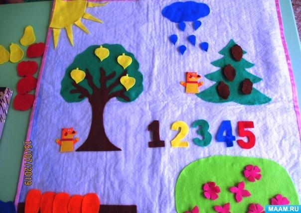 """Татьяна Порядина, воспитатель детского сада №3 """"Дюймовочка"""" поселка Архара Амурской области, уверена, что с малышами нужно обязательно заниматься математикой, ведь дети еще не знают, что в школе это самый трудный предмет."""