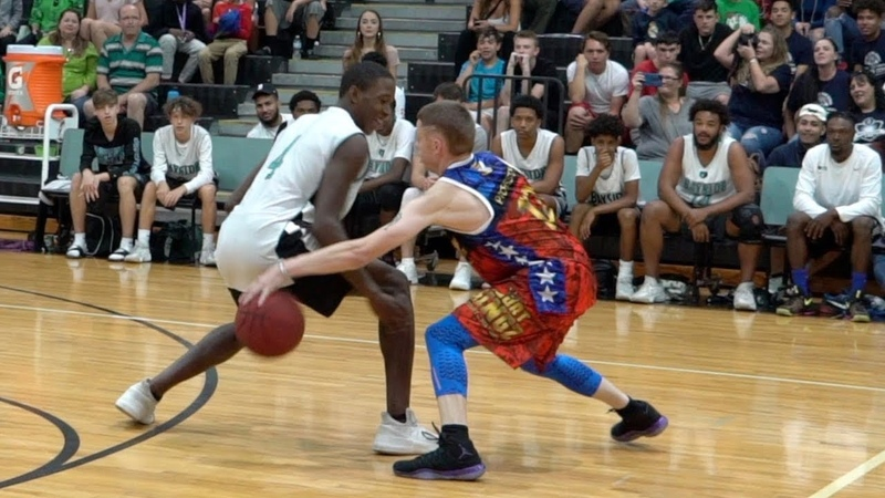 The Professor vs Real Hoopers Damages Ankles Egos