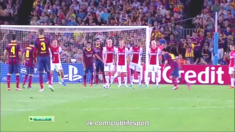 Messi Vine [2014] by Rover (Супер гол со Штрафного)