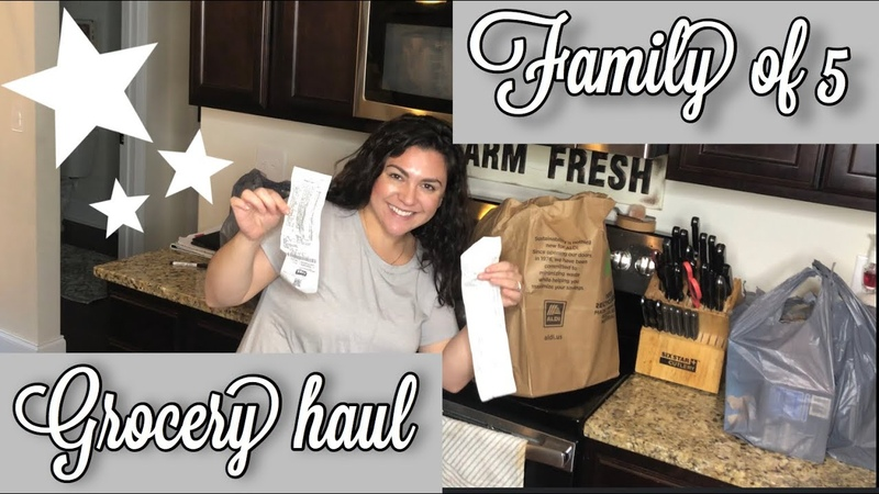 WEEKLY MEAL PLAN AND GROCERY HAUL ALDI AND WALMART