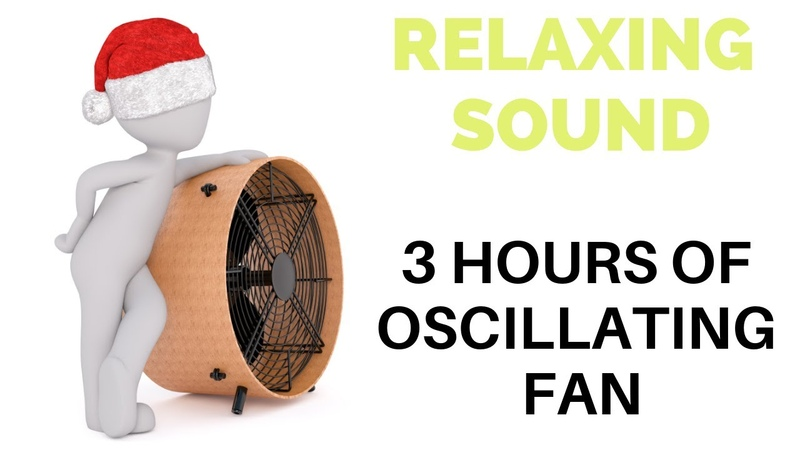 Oscillating Fan Sound 3 Hours for Relaxing Meditation Studying Concentration Focus and Sleep