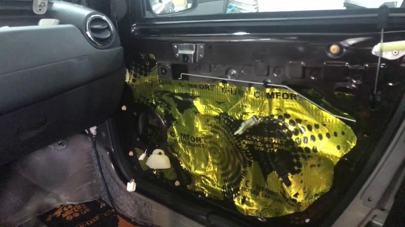 Renault Duster виброшумоизоляция, благодаря которой станет куда приятнее ездить на любые расстояния