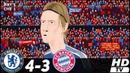 🔥 Бавария Мюнхен - Челси 1-1(3-4) (Анимация) - Обзор Матча Финал Лиги Чемпионов 19/05/2012 HD 🔥