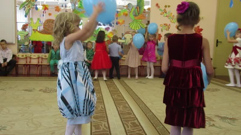 2018.10.30. Праздник осени у Валюши в детском саду