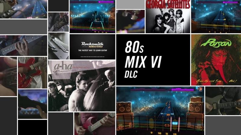 80s Mix VI Rocksmith 2014 Edition Remastered DLC