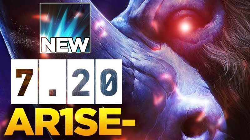 Ar1Se- First Time Playing 7.20 Magnus - Testing NEW Shockwave Spell - BACK TO META?! Dota 2