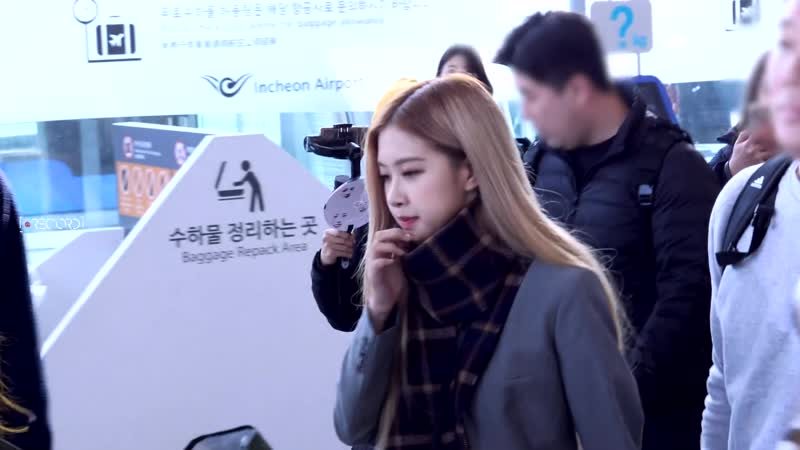 181118 ROSE @ Incheon airport (Seoul, Korea) to Soekarno-Hatta (Jakarta, Indonesia)