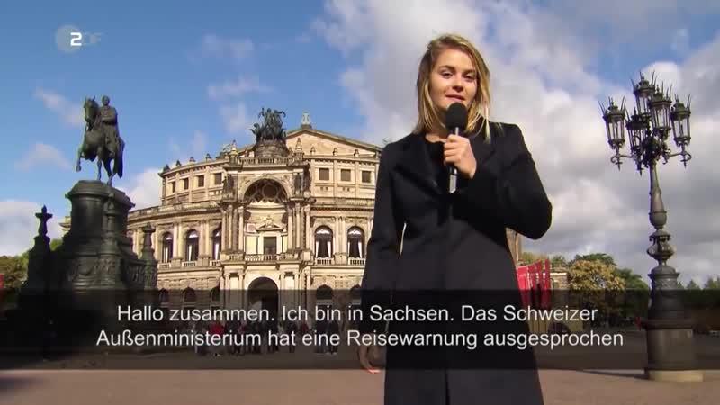Hazel Brugger in Dresden- Wie gefährlich ist es in Deutschland