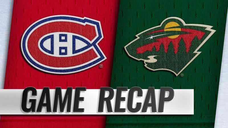 НХЛ - регулярный чемпионат. Матч №31. «Миннесота Уайлд» - «Монреаль Канадиенс» - 71 (10, 40, 21)