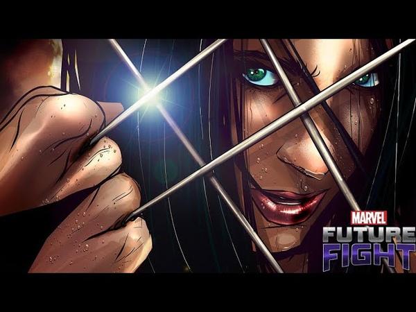 X-Force X-23 Uniform Review   Marvel Future Fight