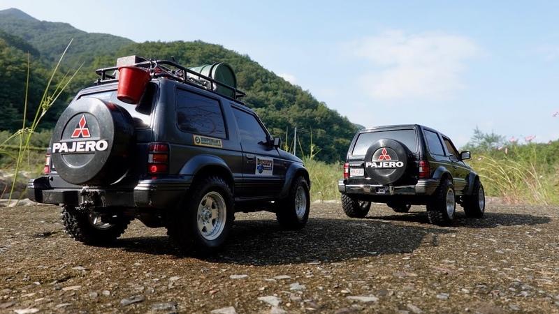 MITSUBISHI PAJERO | MST CMX VS Tamiya CC-01 Chassis | Rock Trails