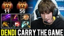 How Dendi Carry the Game in Top Tier Ranked - Living Legend