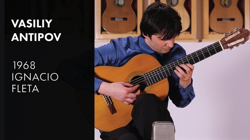 Antipov Sonata-Fantasie 2nd Mvmnt - Vasiliy Antipov plays 1968 Fleta