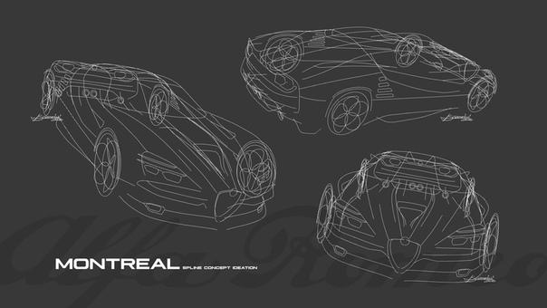 Проект Luca Serafini Alfa Romeo Montreal Vision GT В 1986 году мой отец купил сияющую оранжевую Alfa Romeo Montreal. Все детали, кроме выпусной системы Ansa marmotte, были оригинальными. Я помню