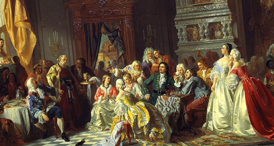 Ассамблея при Петре Первом