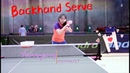 Backhand Underspin Serve——Yangyang's table tennis lessons
