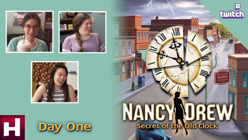 Nancy Drew Secret of the Old Clock SR [Day One Twitch] | HeR Interactive
