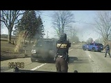 Police USA(18+)Police pursuit of vehicle on fire ends with intentional crash