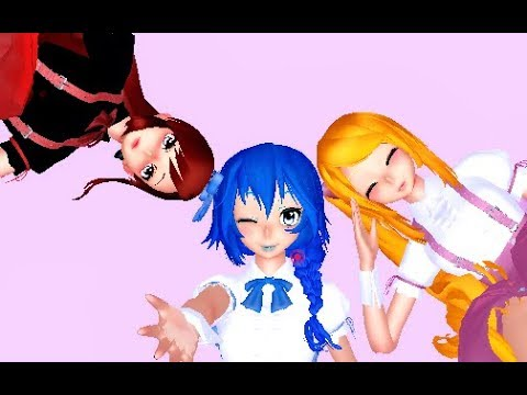 【MMD】Fairy Tail Girls -「Liar Dance」【MOTION AND MODEL DL】
