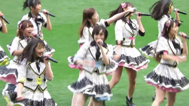 NMB48「ワロタピーポー」@ 皇后杯 JFA 第40回全日本女子サッカー選手権大会 ハーフタイムショー