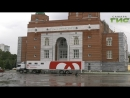 Донорство объединяет народы Передвижнаястанция переливания крови работала на территории соборной мечети