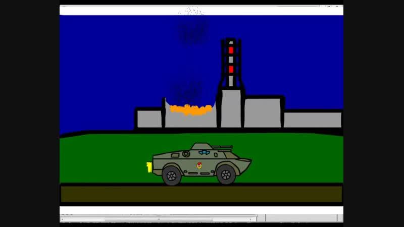 БРДМ-2 Анимация
