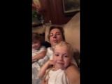 Максим Галкин, Гарри и Лиза Галкины (instagram @maxgalkinru, 23.09.2018)