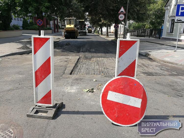 На Буденного не просто изменят направление движения, улицу асфальтируют, движение закрыто