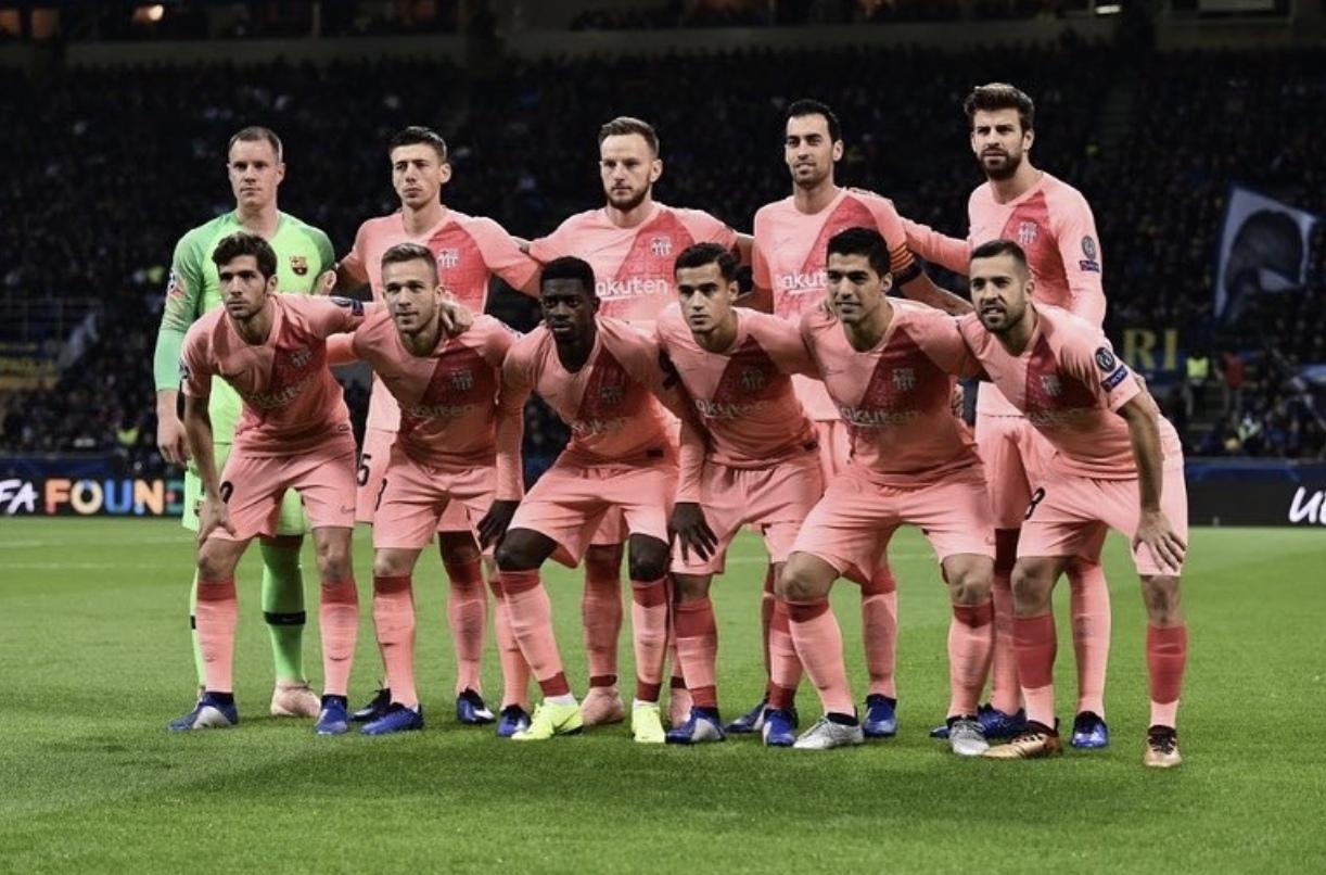 Пару слов о форме Барселоны