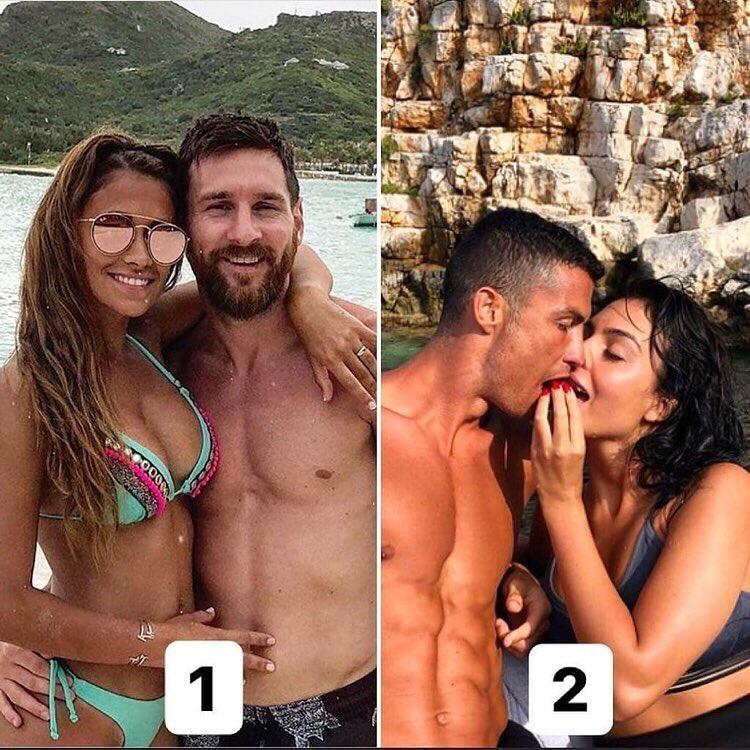Какая пара симпатичнее?