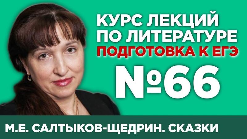 М.Е. Салтыков-Щедрин. Сказки (содержательный анализ) | Лекция №66