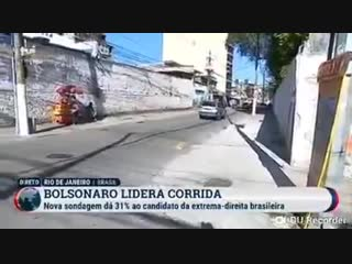 Que feio - tv portuguesa veio ao brasil para fazer uma reportagem ao vivo dos apoiadores d