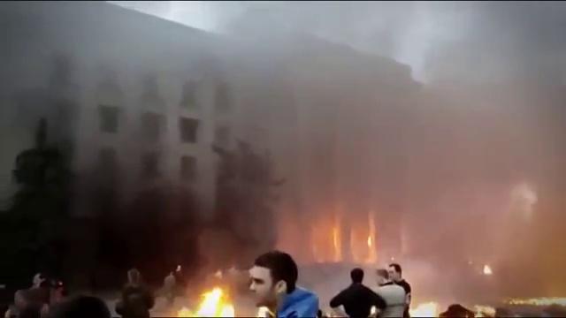 (18) Доказательства поджога и расстрела граждан Одессы. Дом профсоюзов 02 мая 2014год