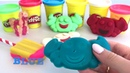 MГотовим Разноцветное Мороженое и Играем с Красками Открываем Сюрприз-Коробочки