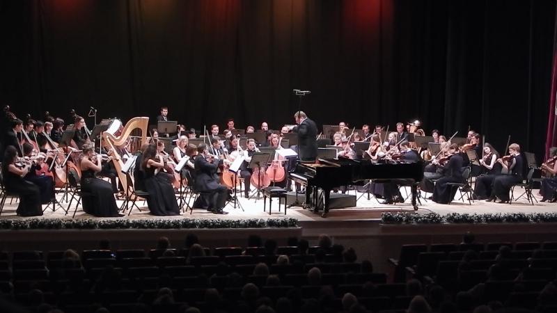 Рязанский губернаторский симфонический оркестр Ф Лист Прелюды Фрагмент
